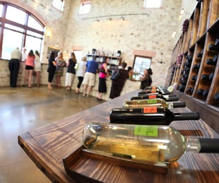 Duchman Family Winery tasting room