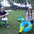6 Chris Hill and Leanna Gatlinat at Anything That Floats 2014