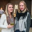 16 April Helmandollar, left, and Nikki Hanley at the CultureMap Social at Gateway November 2014