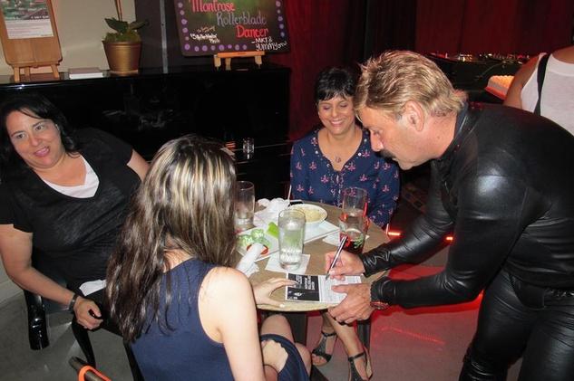 Juan Carlos America's Got Talent with fans