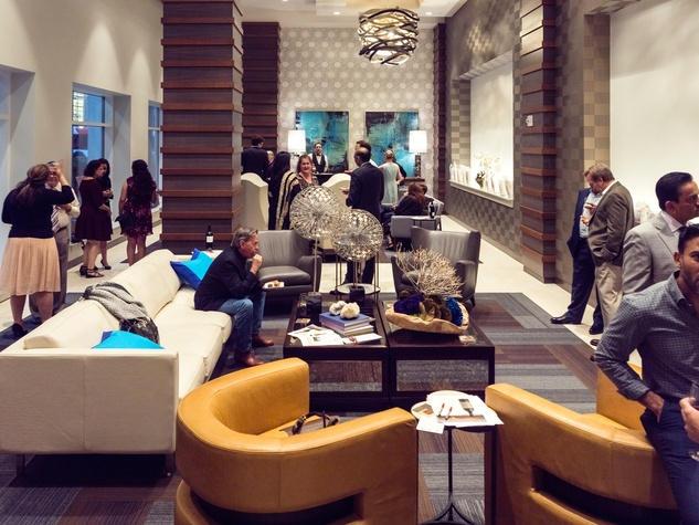 Houston, Pratham Houston's gala kickoff, March 2017, The Star lobby
