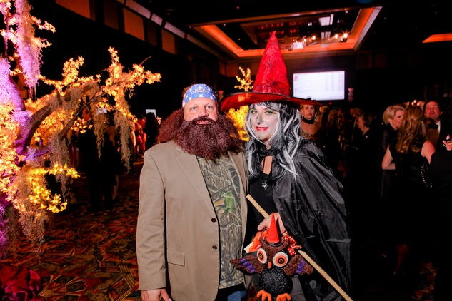 12 Andy and Diane Scardino at the Ronald McDonald House Houston Boo Ball October 2014