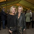 Dena Prasher, left, and Tana Wood at the Memorial Park Conservancy benefit February 2015