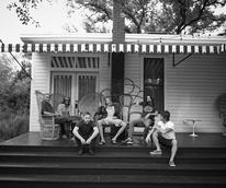 Foo Fighters Hotel Saint Cecilia porch album release 2015