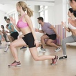 Group class at Castle Hill Fitness in Austin