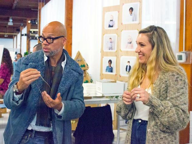 Jackson, Misty Incontrera at CultureMap Holiday Pop-up Shop 2014