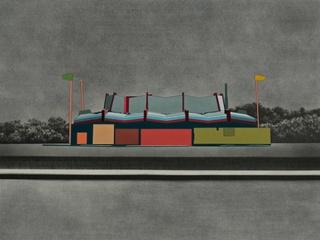 The Golden Waffle_Sara Frantz_Between Borderlands_Women and Their Work Gallery_2015