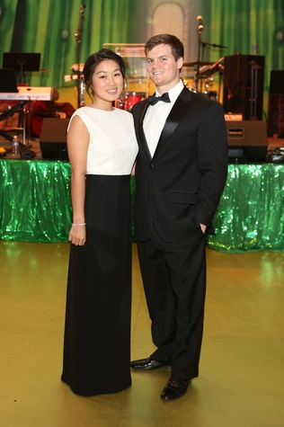 Allyson Chiang and Chris Banket at the Houston SPA Society for the Performing Arts Gala March 2015