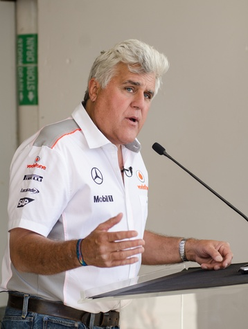 Jay Leno at COTA in Austin