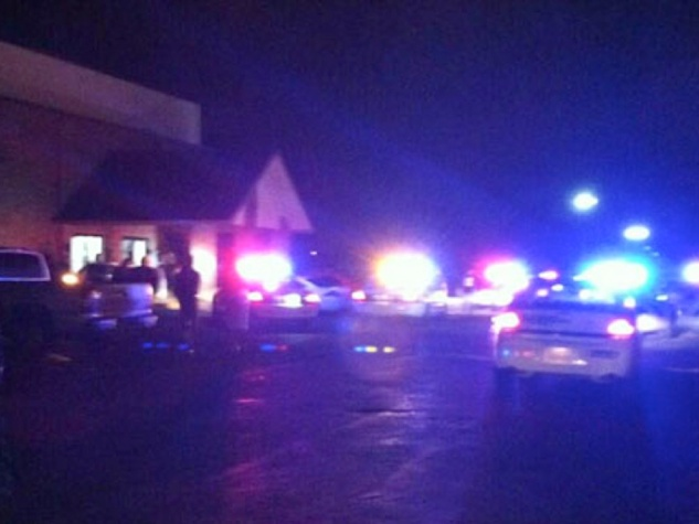 shooting outside Spring Baptist Church during memorial service for Spring High School stabbing victim September 2013