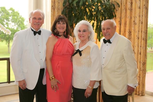 News Shelby CancerForward Michael Francisco, Ellie Francisco, Donna Bruni, Bob Bruni
