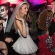Nieves Zuberbühler cut-up wedding gown by Brandon Maxwell