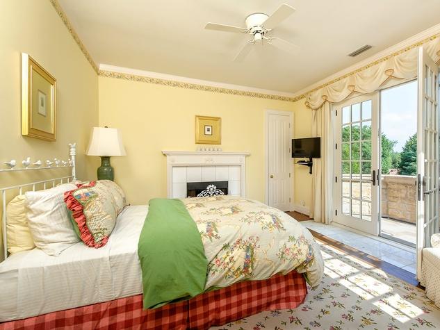 Bedroom at 10770 Inwood Rd. in Dallas