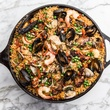 One Fifth Romance Languages cast iron paella