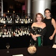 Susie Boyce, left, and Kristine Martinez at West University Park Lovers Ball February 2014