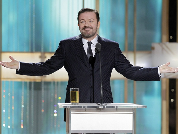 News_Golden Globes_host_Ricky Gervais