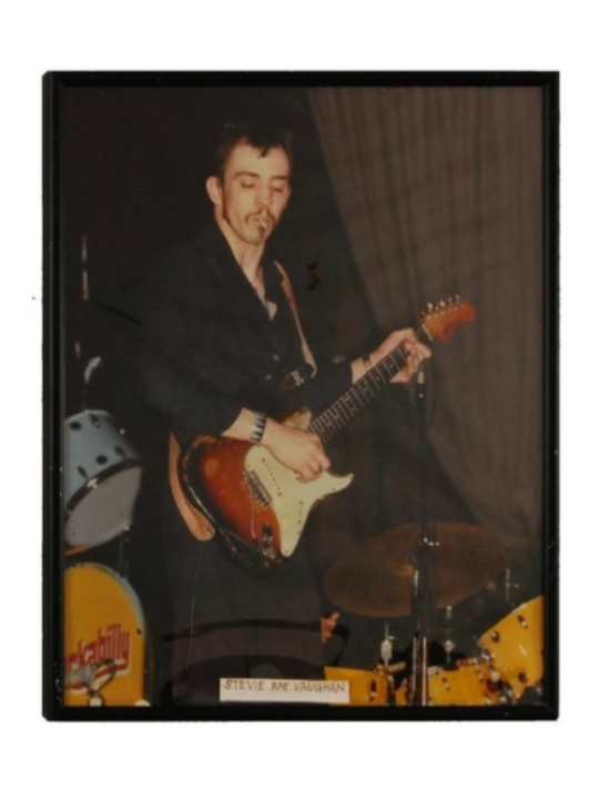 Eddie Wilson_Armadillo World Headquarters_Threadgill's_auction_Burley Auction Gallery_Stevie Ray Vaughan photograph