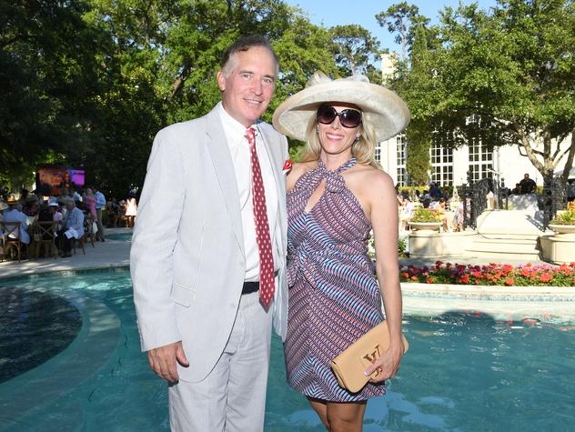 Houston, Hats, Hearts & Horseshoes benefiting Bo's Place 2017, May 2017, Christie Sullivan, Mark Sullivan