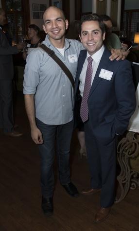 Carlos Meltzer, Marc Eichenbaum, Alley Theatre young professionals, Sept. 2014