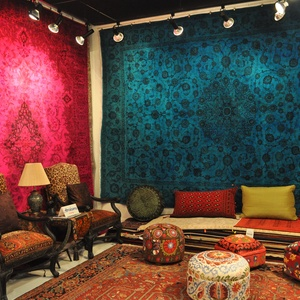 Neon Persian Rugs Believe It Younger Hipper Home