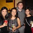 Houston Area Women's Center Young Leaders 7/16   Vera Song, Joyce Zhang, Robby Glenn, Vy Ngoc Nguyen