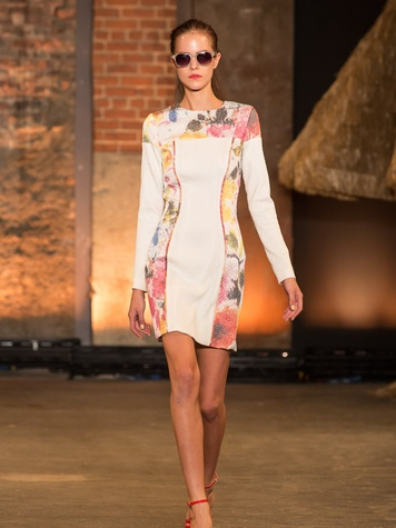 Fashion Week spring summer 2014 Christian Siriano Look 4