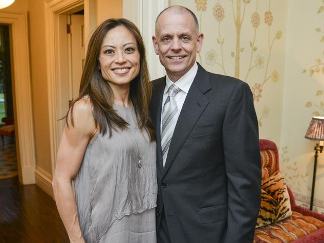 15 Houston Ballet reception April 2013 Jian Short, Mike Short