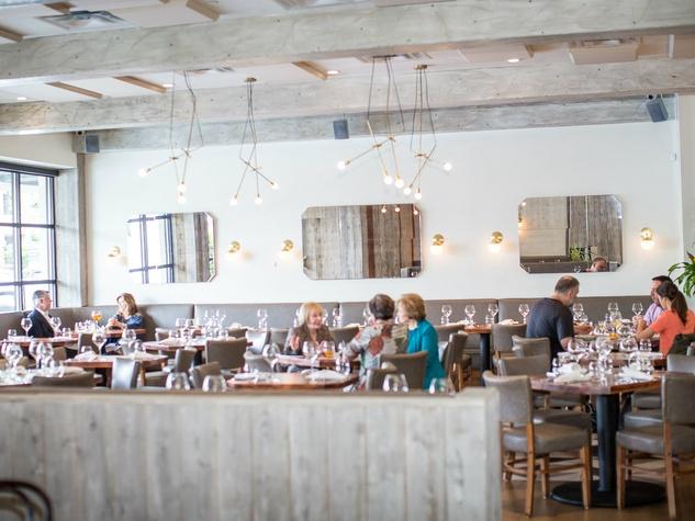 Inside Madrina restaurant in Dallas