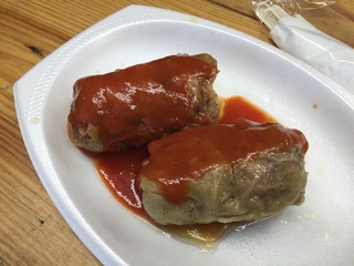 Rodeo carnival Polonia cabbage rolls