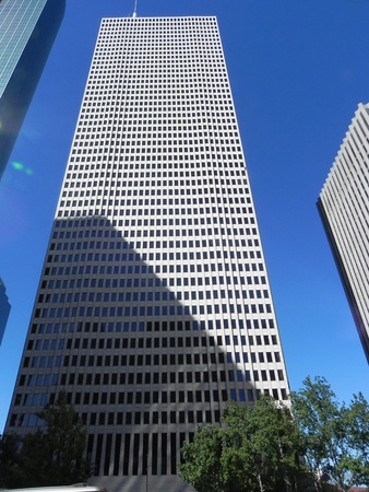 One Shell Plaza, skyscraper, Houston