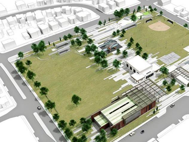 1, Emancipation Park, rendering
