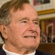 George H.W. Bush, head shot, December 2012