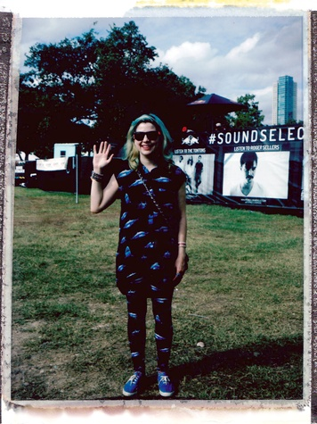 Fun Fun Fest Polaroid Experience 2013 in Austin Ashley Cass