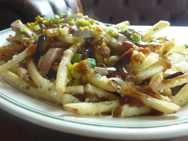 BRC American Gastropub new menu September 2013 Poutine french fries