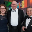 Rice Design Alliance gala, October 2012, Linda Sylvan, Dick Sylvan, John Casbarian