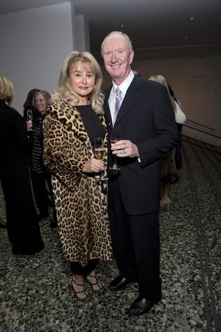 News, Shelby, Museum of Fine Arts donor dinner, Michelle Hevrdejs, Frank Hevrdejs, Jan. 2015