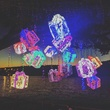 Mozart's Coffee Roasters Lake Travis Christmas holidays lights display