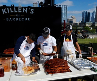 Texas Monthly BBQ Fest 2015 Killen's Barbecue