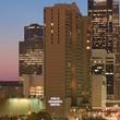 Four Seasons Hotel Houston at night