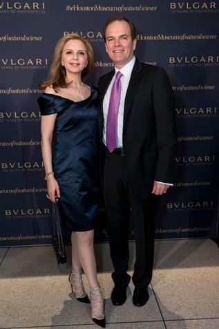 Sallymoon Benz and Dr. Alan Bentz at the Bulvargi exhibition dinner