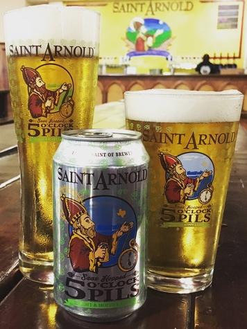 Saint Arnold 5 O'Clock Pils