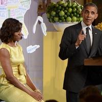 Kids' State First Dinner July 2013 Michelle Obama President Barack Obama