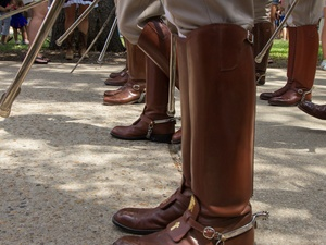 Texas A&M Corps of Cadets, boots