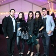 122 Kamyar Ansari, from left, Joy Kennedy, Atessa Barazandeh, Sahar Athari and Nader Deylami at the Baanou Grand Opening Party November 2014