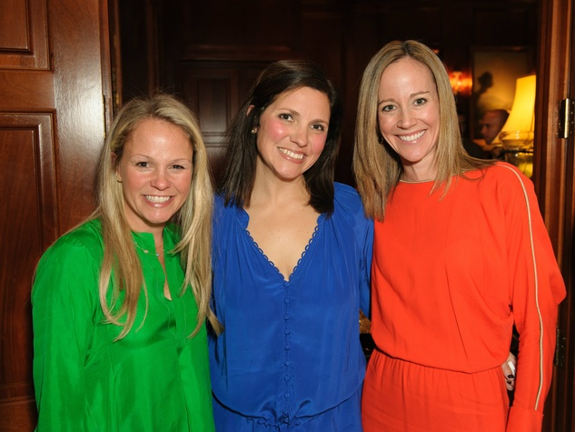 Lindsay Wheeler, Elizabeth Wheeler, Alissa Gearing, trains of northpark sponsor party