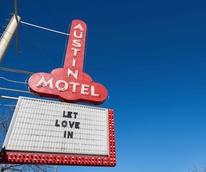Austin Motel 2017 sign