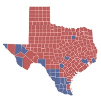 state of Texas, Obama, Romney, election results, November 2012