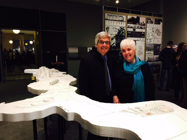 News, UH College of Architecture, Venice Biennale reception, March 2015, Pete Zweig, Patricia Oliver