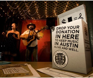Health Alliance for Austin Musicians performing during annual HAAM Benefit Day