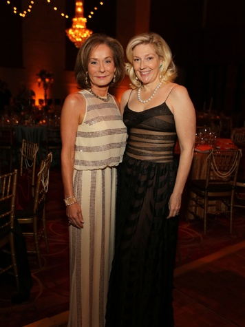 13 Melanie Gray, left, and Kathryn Smith at the Society for the Performing Arts Gala March 2014